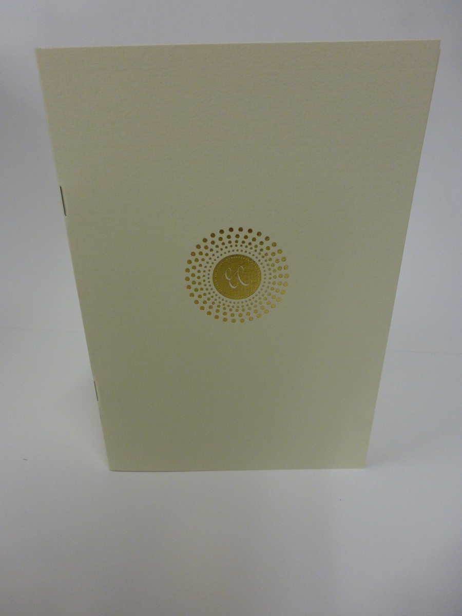 Gold Foiled Logo