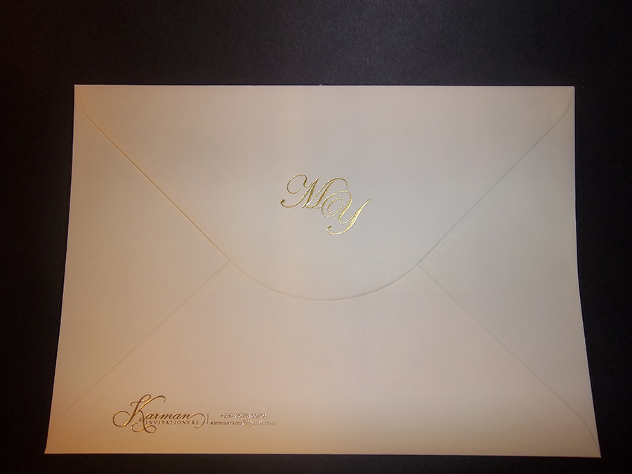 Envelope Foil Printed