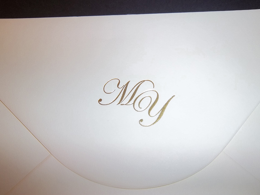 Envelope Monogram
